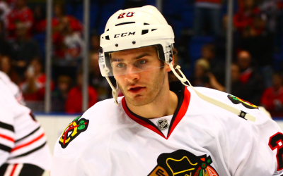 Chicago Blackhawks Brandon Saad. (Brandon Titus/Inside Hockey)