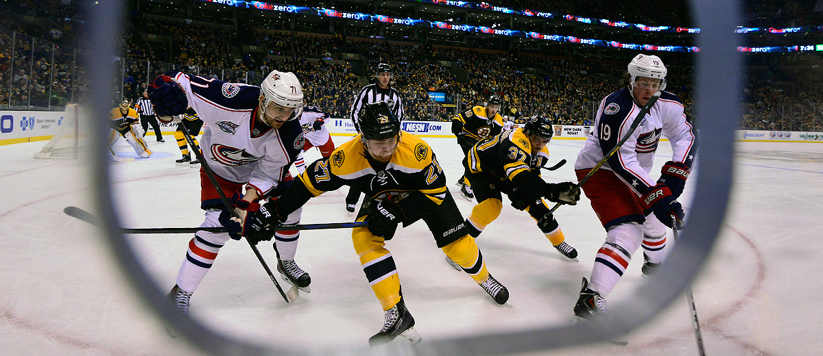 Bruins vs Blue Jackets