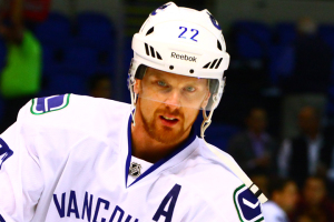 Vancouver Canucks Left Wing Daniel Sedin. (Brandon Titus/Inside Hockey)
