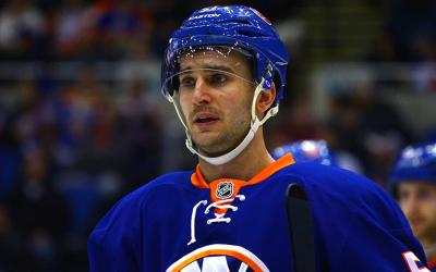 NY Islanders Center Frans Nielsen. (Brandon Titus/ Inside Hockey)