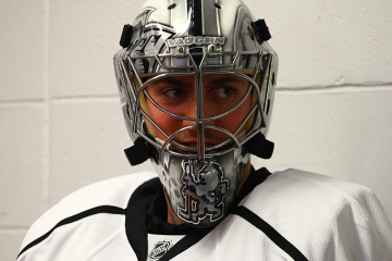 LA Kings Goaltender Martin Jones .(Brandon Titus/Inside Hockey)