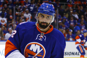 NY Islanders  Defenseman Nick Leddy. (Brandon Titus/ Inside Hockey)