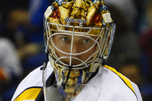 Nashville Predators Goaltender Pekka Rinne. (Brandon Titus/Inside Hockey)