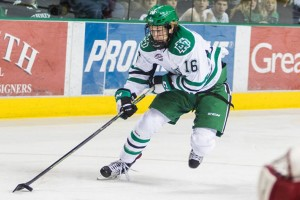 UND forward Brock Boeser (Tyler Ingham, UND Athletics)