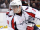Washington Capitals forward Alexander Ovechkin stickhandles duri