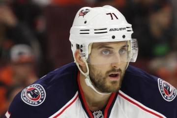 Left Wing Nick Foligno (#71) of the Columbus Blue Jackets