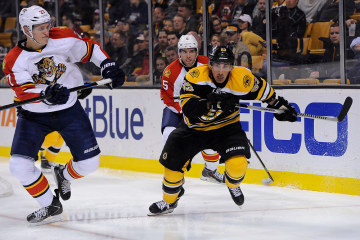 Boston Bruins left wing Brad Marchand #63
