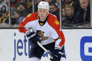 Florida Panthers defenseman Dylan Olsen #4