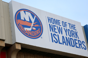 NY Islanders home arena Nassau Veteran's Memorial Coliseum.(Brandon Titus/Inside Hockey)