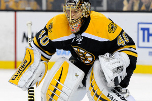 Boston Bruins goalie Tuukka Rask #40