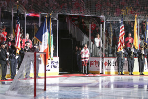 Color guard / National Anthem
