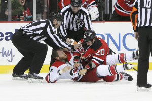 Tootoo takes Gleason to the ice