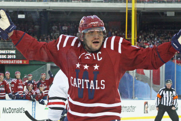 Alex Ovechkin wants slashing call in third period IMG_5279