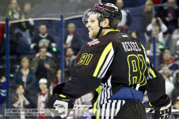Phil Kessel (TOR) of Team Foligno.