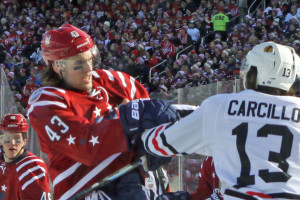 Tom Wilson and Daniel Carcillo fight IH IMG_4077