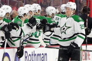 Right Wing Brett Ritchie (#25) of the Dallas Stars