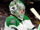 Goalie Kari Lehtonen (#32) of the Dallas Stars