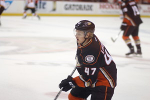 Defenseman Hampus Lindholm (#47)