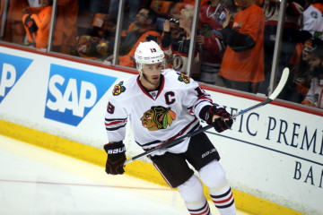 Captain Jonathan Toews (#19)