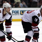 Oliver Ekman-Larsson (#23) and Shane Doan (#19)