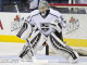 Jonathan Quick (LA - 32) durings warmups.