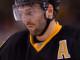 Boston Bruins center Patrice Bergeron (37) during a NHL game in Boston's TD Garden.