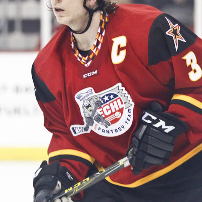 Zach Miskovic (IND - 3) is the ECHL Fantasy Team Silver Skater honoree for the Indy Fuel.
