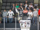 Jim Hupp and the rest of the 215, the Wheeling Nailers' loudest and rowdiest fan section in WesBanco Arena.