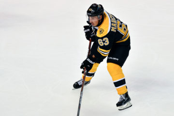 Boston Bruins left wing Brad Marchand (63) in acton in a NHL game against the New Jersey Devils.