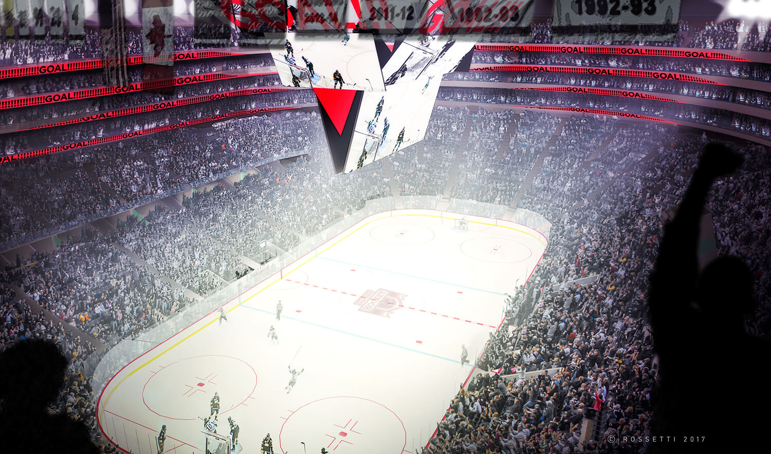 Rossetti S Inverted Bowl The Future Of Arena Design Inside Hockey