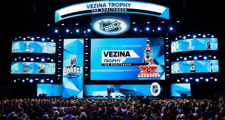 The NHL Awards held annually in Las Vegas, Nevada following the conclusion of the Stanley Cup Final.