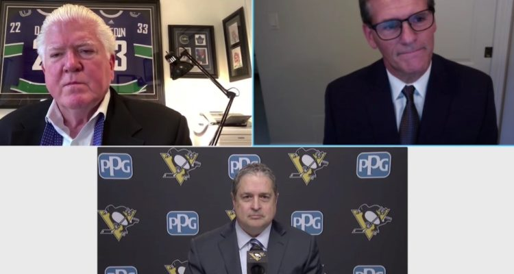 Penguins New GM Zoom Conference
